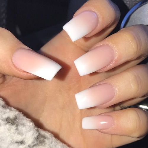 French Ombres Chaun Legend | Coffin Nails | Pinterest | Nail nail ...