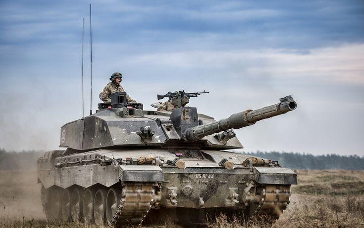 Military - Challenger 2 Tank Wallpaper