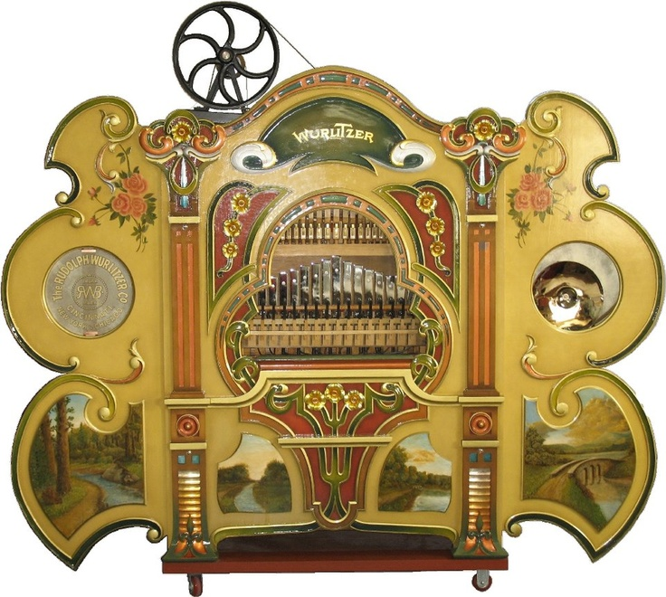 The Wurlitzer band organ from Norumbega Park,Newton,MA. Rescued, restored and revered by Rob Goodale and many more of us! Thank you Rob!