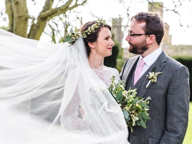 Real weddings: A springtime celebration at The Barn at Upcote  Photographer: Marcus Ward at Bigeye Photography
