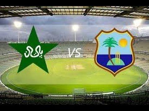 Paksitan Vs West Indies 1st Odi Highlights Pakistan Innings 2016