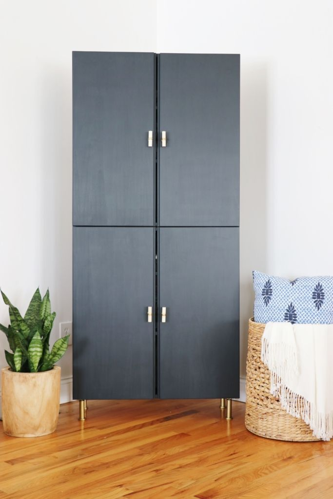 Ivar IKEA Hack-Library Cabinet – Angie Ferrin – #A…