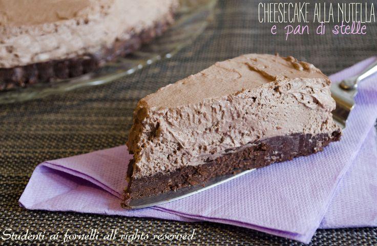 Cheesecake alla nutella e pan di stelle