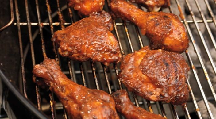 Check out this delicious recipe for Triple Play Barbecued Chicken  from Weber—the world's number one authority in grilling.