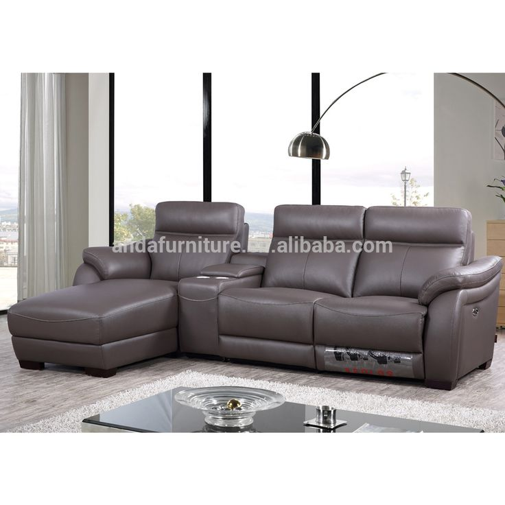 Wholesale Modern Leather Couch Living Room Sofa,1 Seater Electric Recliner  Sectional Sofa K1651 For