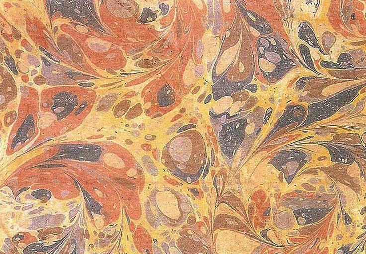 Şeyh Sadık Efendi'nin ebru eseri, 19.yy.  #ebru #şeyhsadıkefendi #art #artwork #karinsanat #fineart #ottomanart