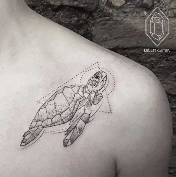 Creative collarbone design by Bicem Sinik