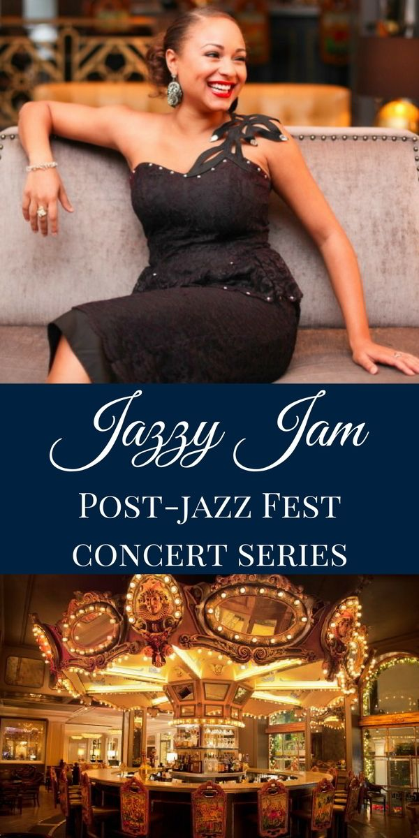 Once you've spent all day outside festing, you'll want to relax indoors with a cold cocktail in hand. That's why we're pleased to revive our annual Jazzy Jam free live music series, happening every night after Jazz Fest in The Carousel Bar & Lounge.