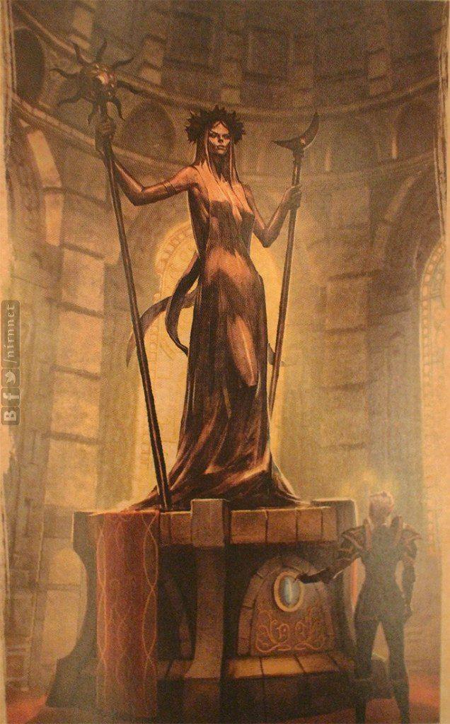 The Elder Scrolls: Online - Azura. Concept Art.