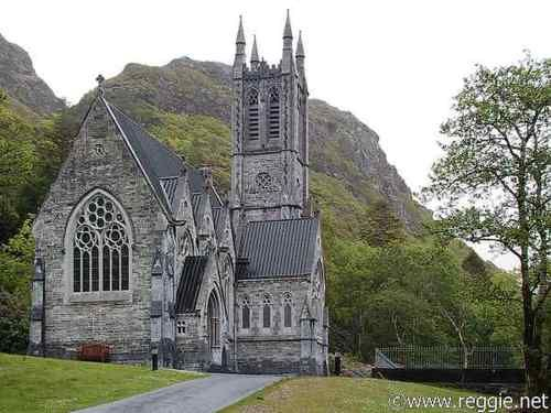 Kylemore Abbey, Ireland: Irish Church, Beautiful Church, Kylemor Church, Beautiful Irish, Galway Ireland, Kylemor Abbey, Beautiful Places, Connemara Marbles, Abbey Church