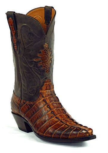 American Alligator Boots Style 116 Custom-Made by Black Jack Boots