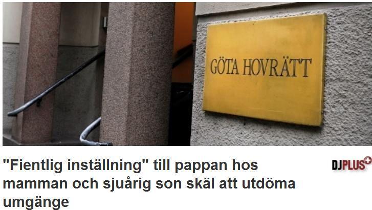 Göta Hovrätt ser det förgiftade barnets behov av sin pappa