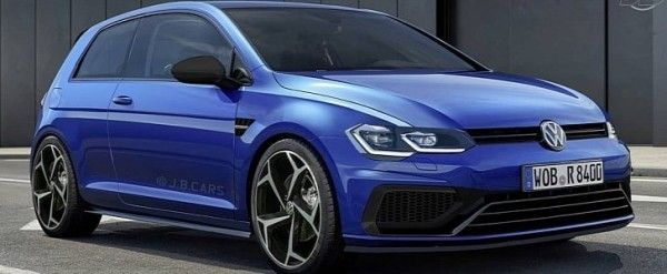 2021 Vw Golf R Rendering Is All About The Headlights Vw Golf Peugeot 308 Volkswagen