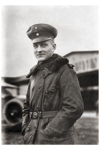 German Ace Red Baron von Richthofen ======================== Немецкий ас Красный Барон фон Рихтгофен.