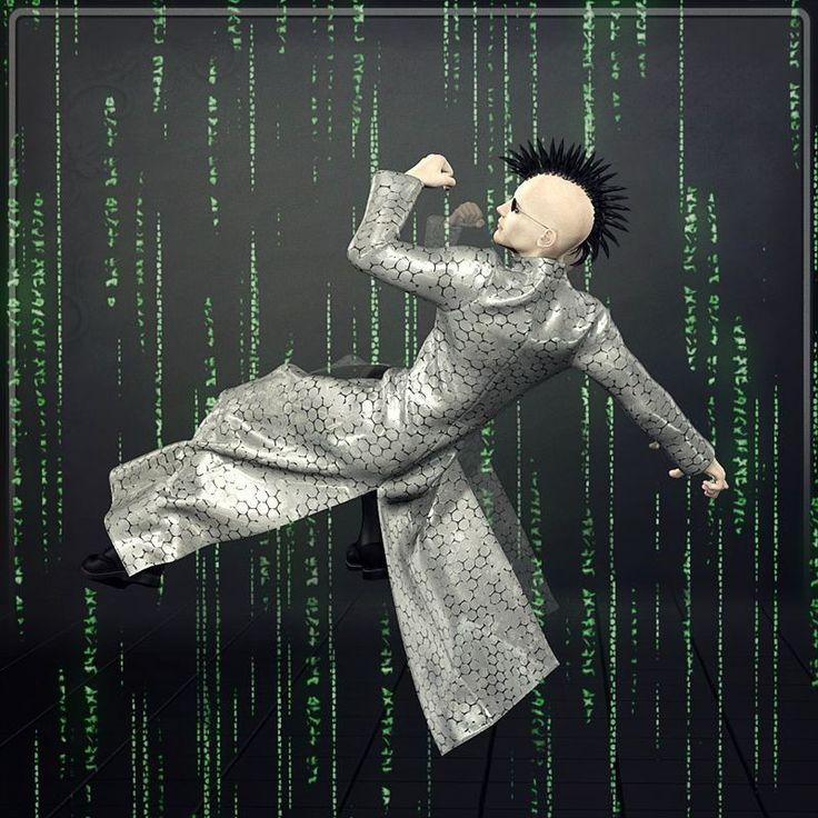 Dynamic Mainframe Coat // #coat #futuristic #scifi #poser #renderosity #3d #dynamicclothing #dynamiccloth #poserpro