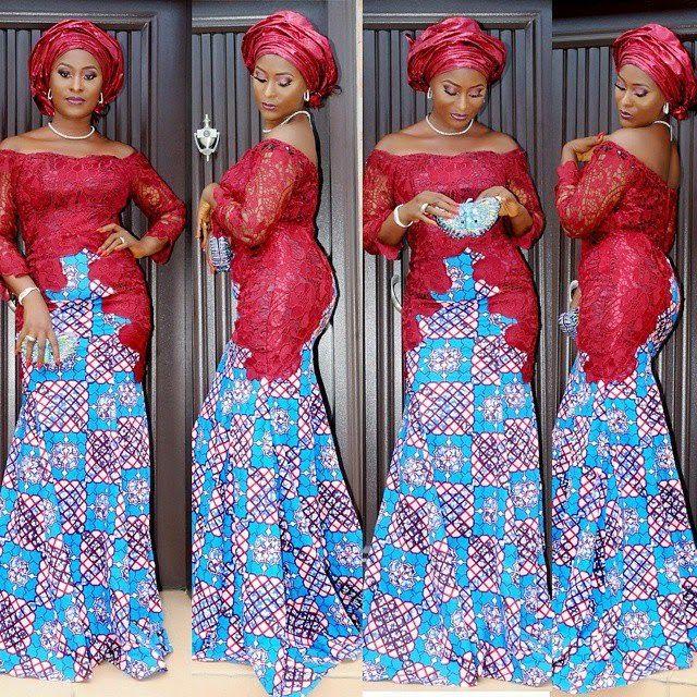 ankara dress, ankara design style