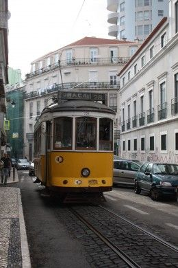 The iconic Tram 28 in #Lisbon #Portugal  A very peculiar sightseeing tour