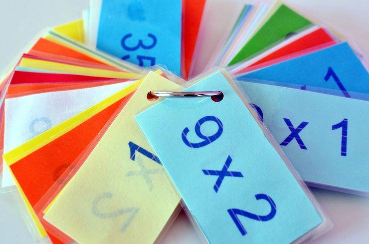 diario de naii: Tablas de multiplicar