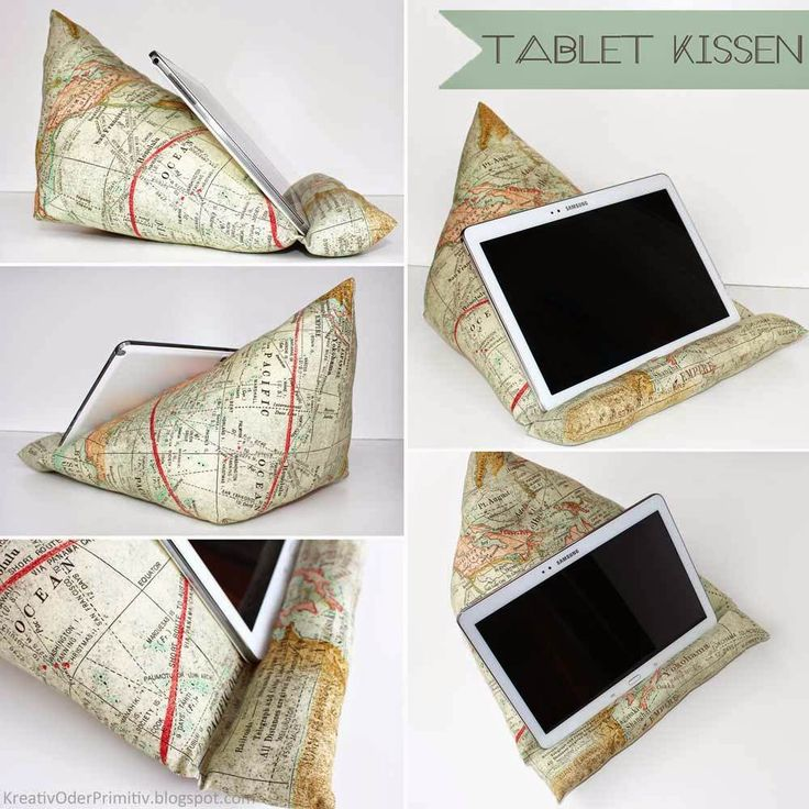 Tablet / E-book / book PILLOW