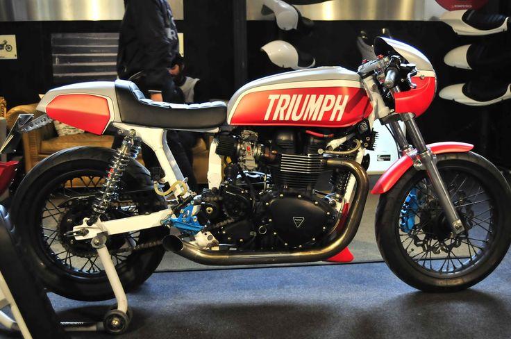 RocketGarage Cafe Racer: Motor Bike Expo 2015 - Cafe Racer #1