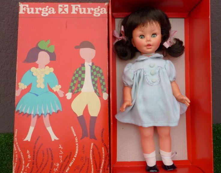 bambola FRANCESCA furga alta cm.42 VOCE MAMMA anno1965 Doll Puppe Muñeca in Giocattoli e modellismo, Bambole e accessori, Bambolotti e accessori   eBay