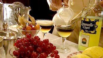 Limoncello di Capri - a new cocktail for Italian Night!