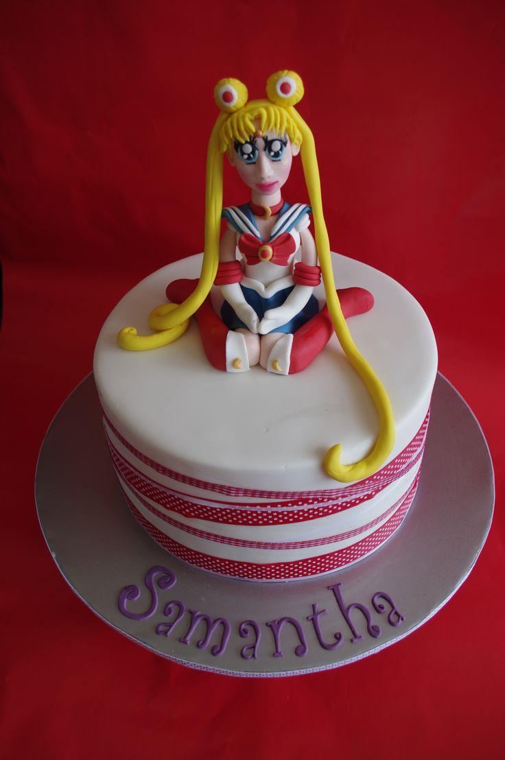 ... Moon Cake: Sailor Moon Cakes, Sailors Moon Cakes, Birthday Cakes