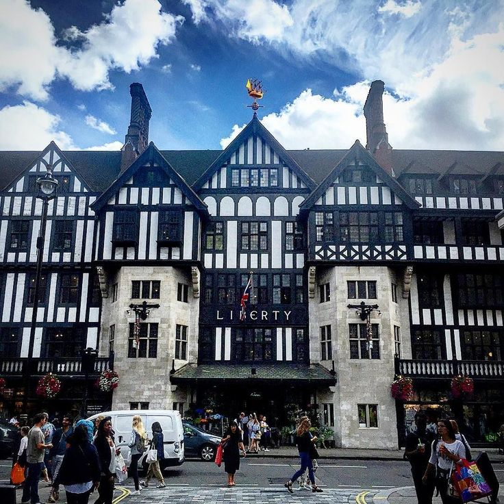 #London #liberty #soho #oxfordcircus #landmark shop