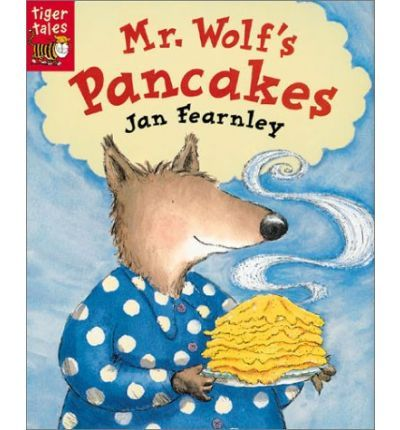 Mr. Wolf wants to make some pancakes for breakfast, but isn't quite sure how to go about it. So off he goes to ask his neighbors Chicken Little, Wee Willy Winkle, the Gingerbread man, Little Red Riding Hood, and the Three Little Pigs for their help. When he is turned down by each of them, he decides to try it on his own. Soon he succeeds in making a huge pile of delicious pancakes. Having smelled ...