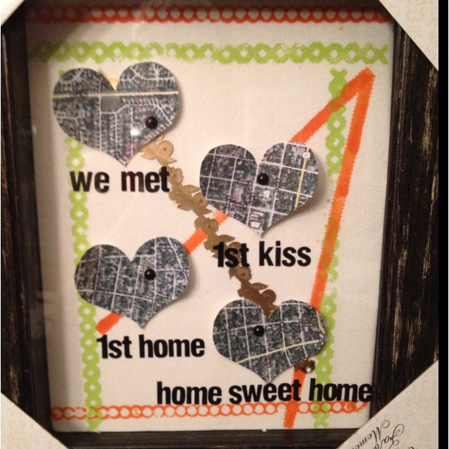 155 best i love being my husbands wife images on pinterest for Anniversary craft ideas for parents