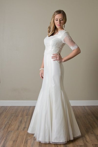 Modest Wedding Dresses For Rent In Utah : Best images about wedding gowns on modest