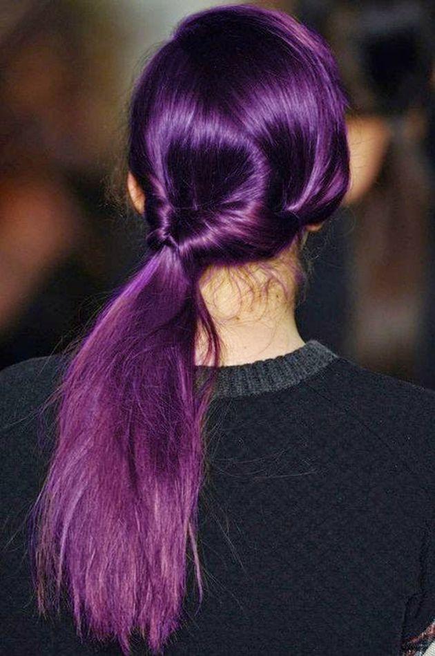 Fabuleux Plus de 25 idées uniques dans la catégorie Cheveux roses violets  UL15