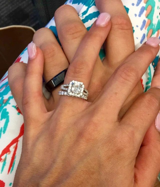 Peyton Thomas Ganus's engagement and wedding rings