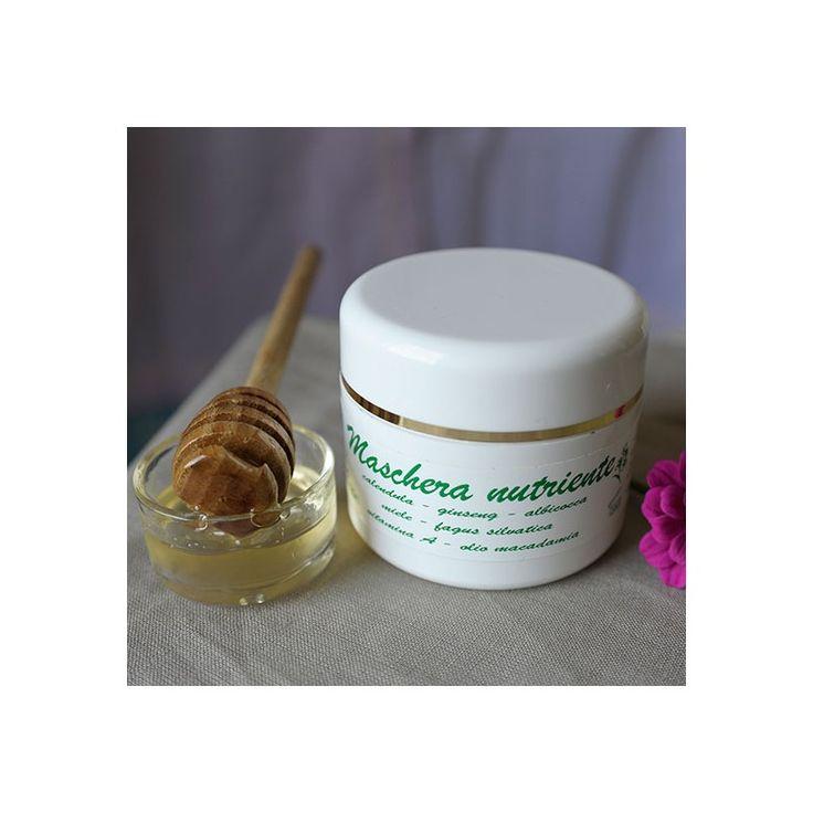 Maschera Viso Nutriente - Antos - EcoLifeBio