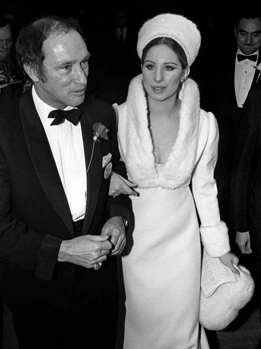 Pierre Trudeau with Barbra Streisand in 1970
