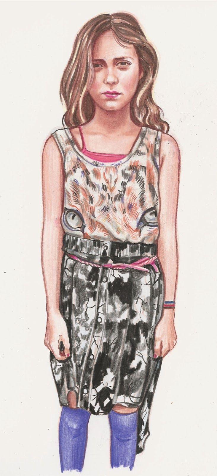 Blog: What My Daughter Wore - Sketching Tween Street Style - Doodlers Anonymous