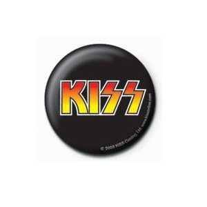 Pyramid International Rozet - Kiss (Logo) - 25 mm Rozet - BunlardanIstiyorum.com
