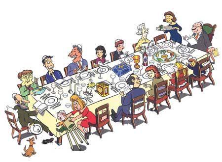 כיצד נשרוד את ארוחת ליל הסדר?