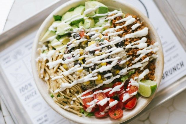 Quinoa Taco Salad by Chloé is Officially the Dopest Salad I Have Ever Had