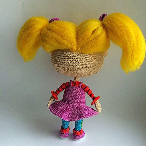 Talking Angela Amigurumi : 145 beste afbeeldingen over Crochet characters op ...
