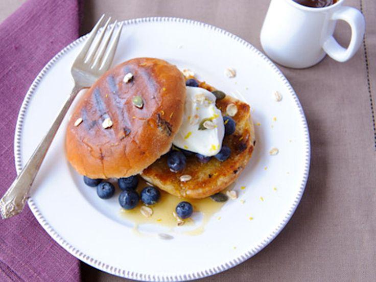 Blueberry Teacake Recipe | Warburtons Family Bakery