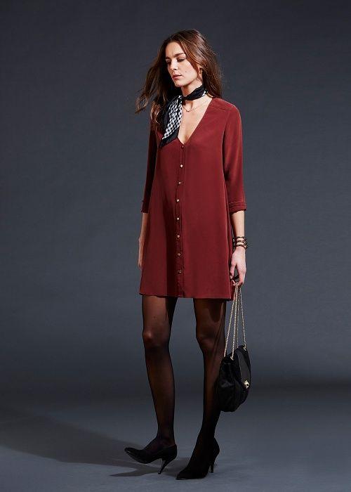 Robe Elly // Lookbook Capsule Plein Hiver Prêt-à-Porter - www.sezane.com #sezane #robe #elly #lookbook #hiver