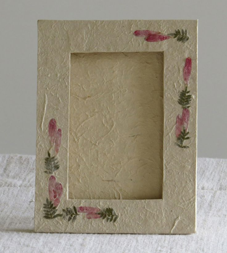 Love it? - Frame it! Perfect for photos: Flower decorated Fair Trade frame.