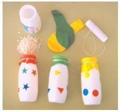 Come fare delle maracas con bottiglie di plastica