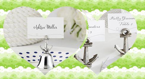 Anchor Place Card Holder from HotRef.com