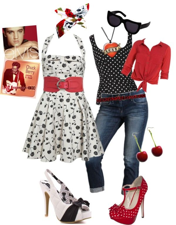 """Rockabilly"" by blanchard on Polyvore"