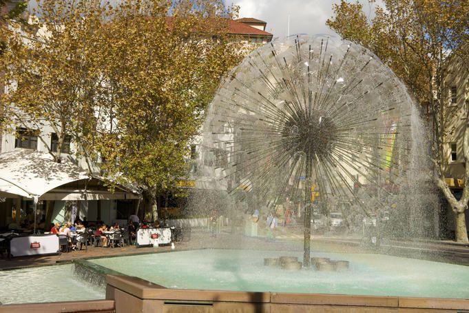 Alamein fountain Kings Cross