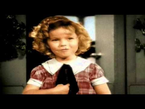 SHIRLEY TEMPLE - On The Goodship Lollypop. RIP Shirley.