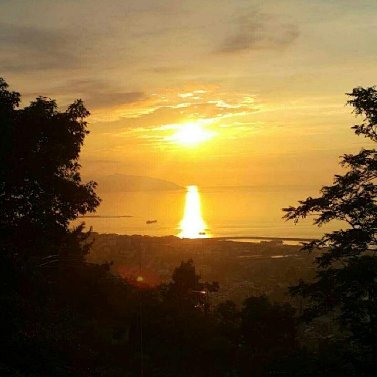 Sunset in Boztepe