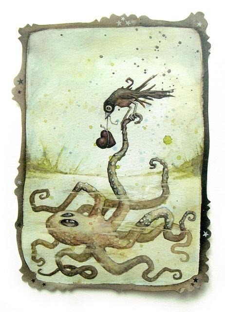 Octo-love. Artist: Leontine Greenberg.